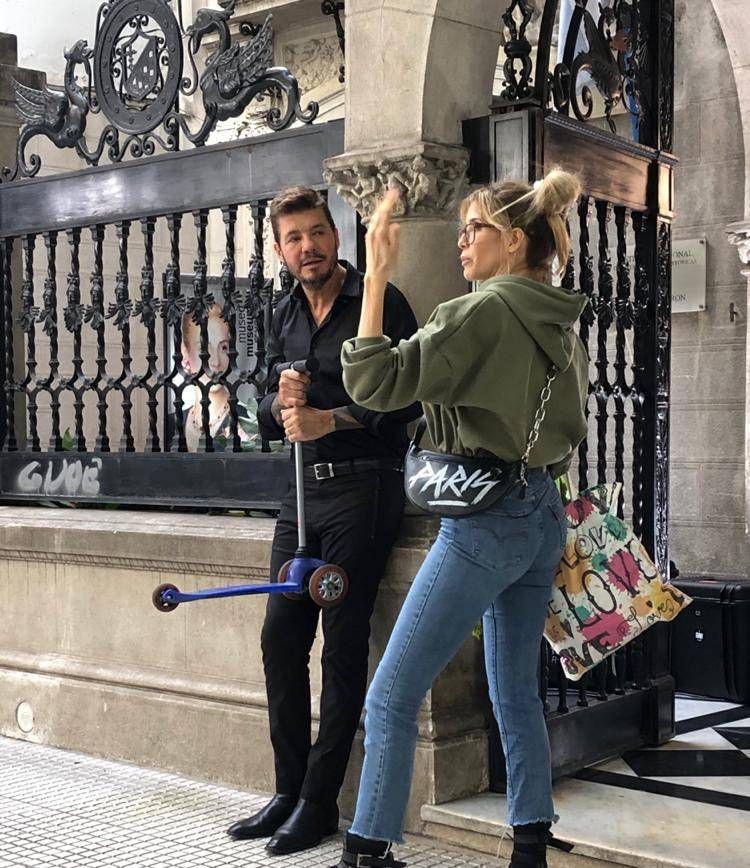 Descubren a Marcelo Tinelli y Guille Valdés en las calles porteñas