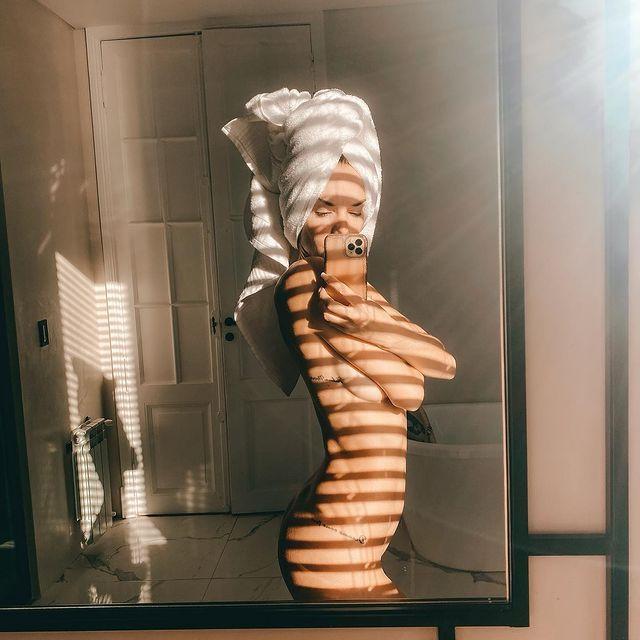 Julieta Nair Clavo posó desnuda e incendio las redes sociales