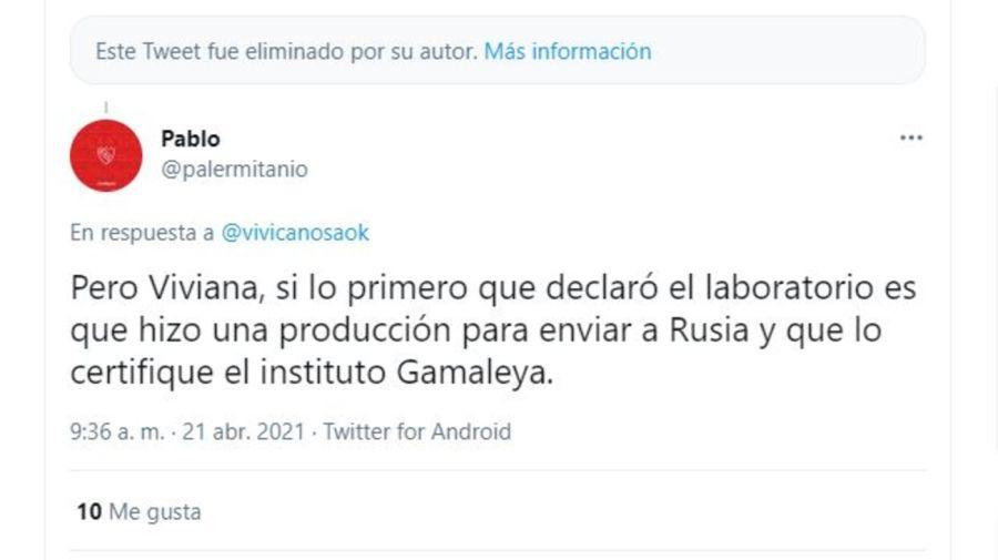 Polemica Viviana Canosa