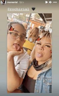 Tras meses sin verse Morena y Rocío Rial se reencontraron y compartieron una salida