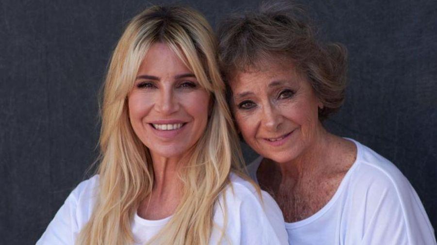 Florencia Peña y su madre Norma