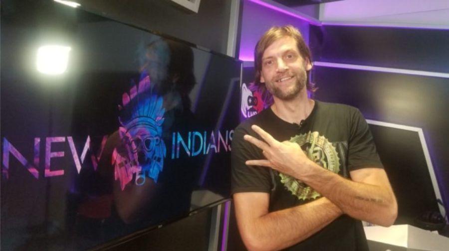 Oberto, impulsor del equipo New Indians GG