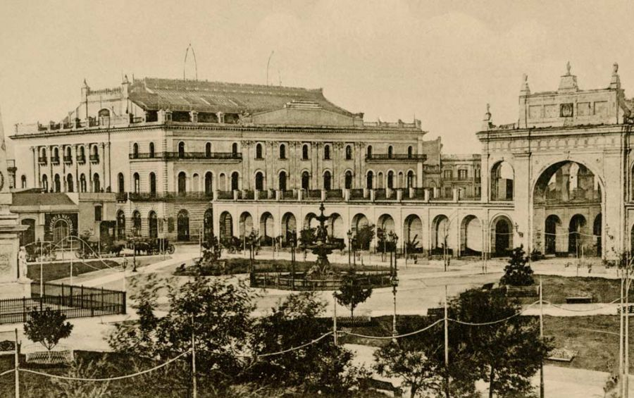 Primer Teatro Colón.