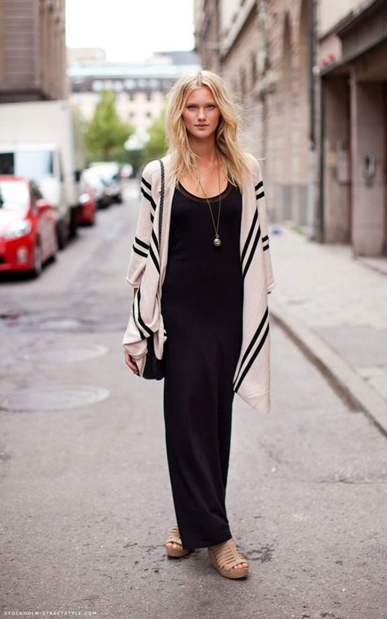 Vestidos largos de algodón