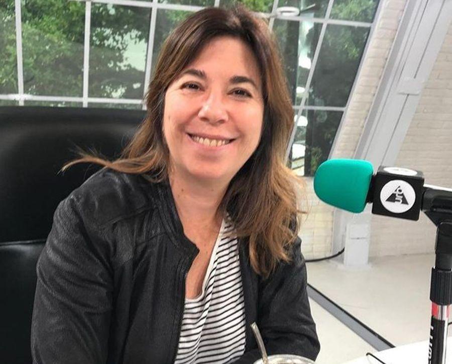 Una sorpresa fue verla en el ciclo de famosos que cocinan. La periodista hoy hace radio en Urbana Play FM y el programa Conecta2, con Ernesto Tenembaum en CNN en español.
