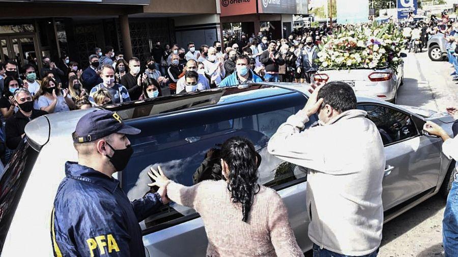 Despedida al ministro de Transporte Mario Meoni en Junín