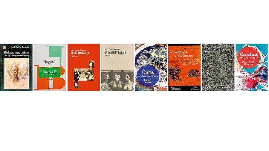 Libros de José Emilio Burucúa.