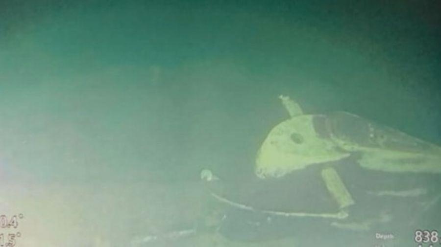 Restos del submarino de Indonesia, una tragedia que dejó 53 muertos.