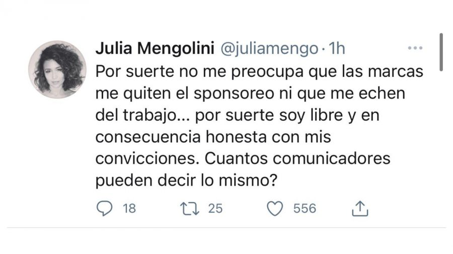 tweet Julia Mengolini 0426