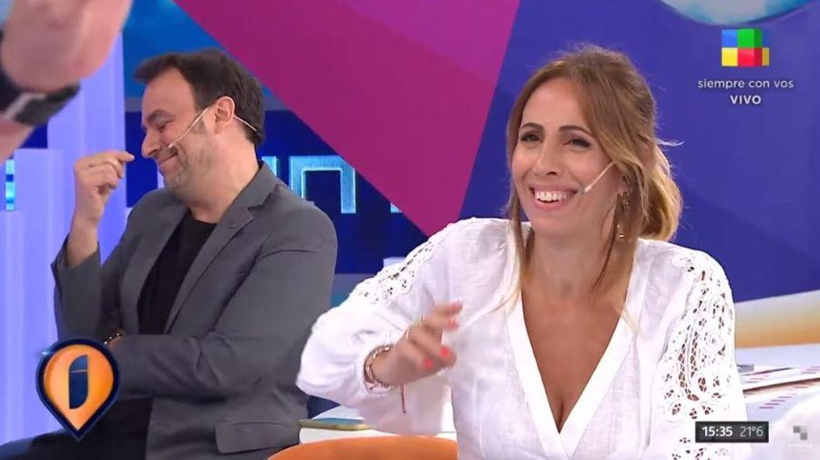 Adrian Pallares y Paula Varela
