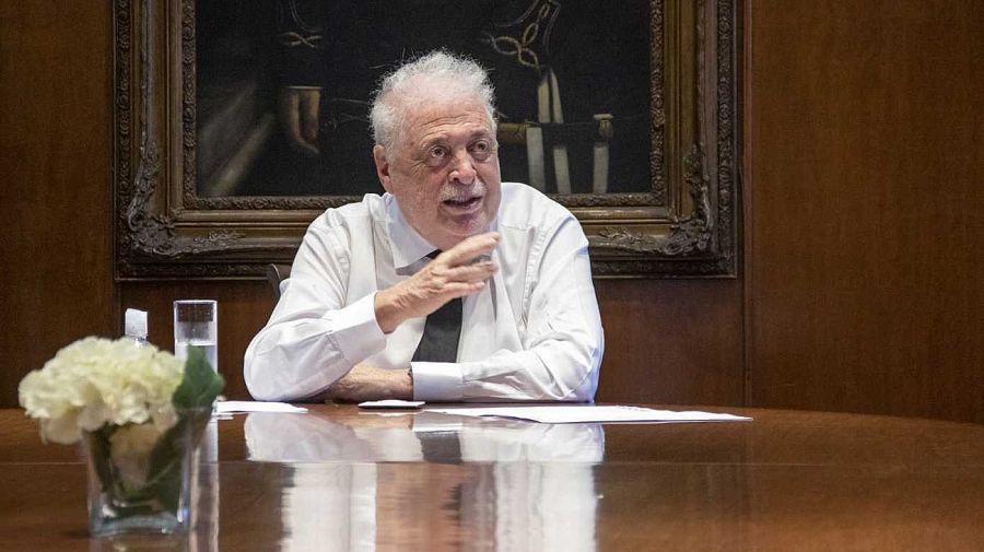El exministro de Salud, Ginés González García.