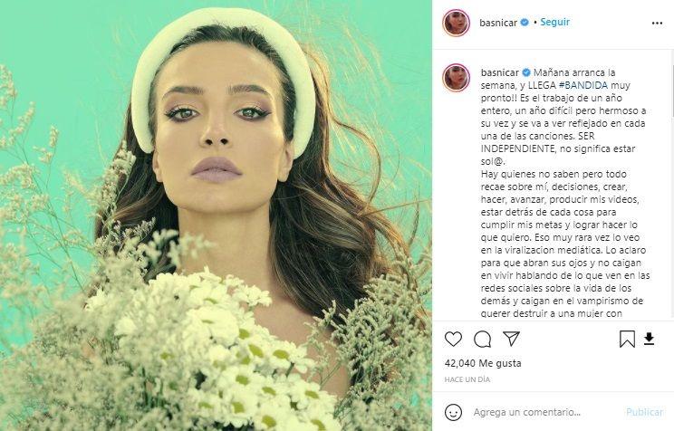 El mensaje de Brenda Asnicar luego de que el Duki confirmara su separación