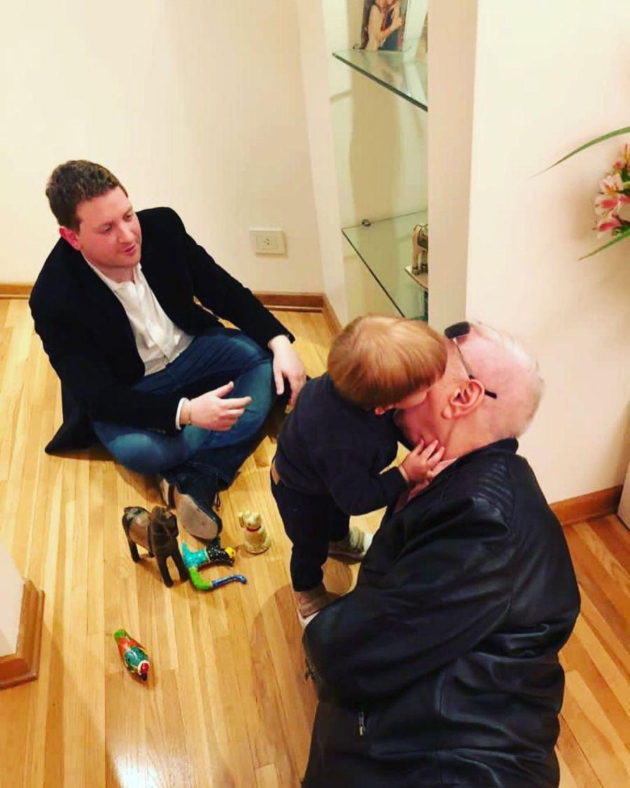 Jonatan Viale recordó a Mauro Viale y mostró cómo era con sus nietos