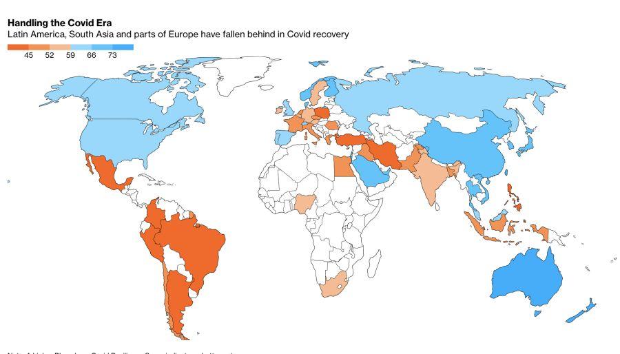 ranking pandemia