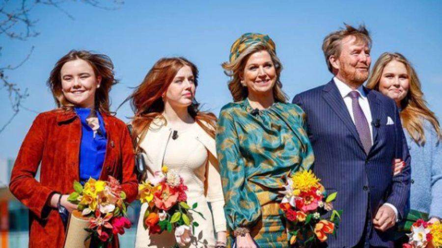 Guillermo de Holanda celebró en familia su cumpleaños 54