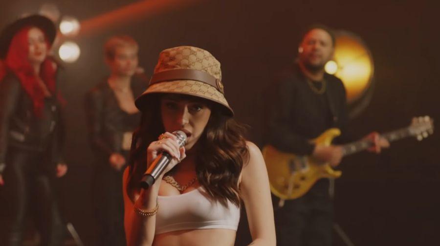 Nicki Nicole cantó en el show de Jimmy Fallon