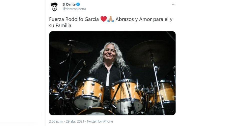 El mensaje de Dante Spinetta por Rodolfo Garcia