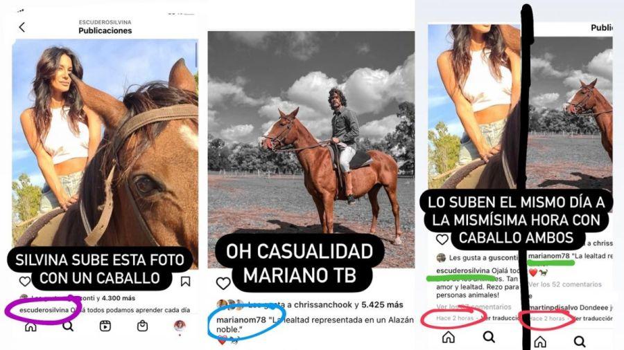 Por una foto: aseguran que hay onda entre Mariano Martínez y Silvina Escudero