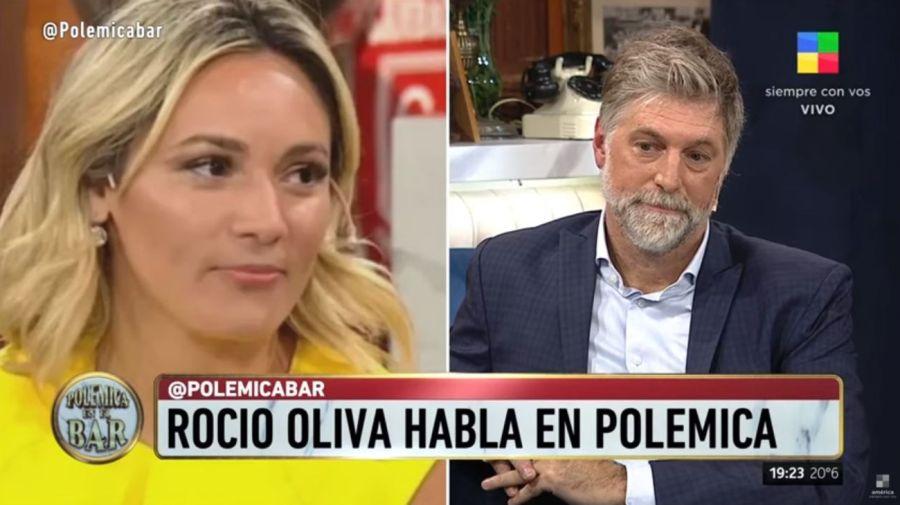 Rocio Oliva contra Horacio Cabak