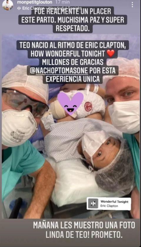 Karina Gao dio a luz a su bebé tras batallar con el coronavirus