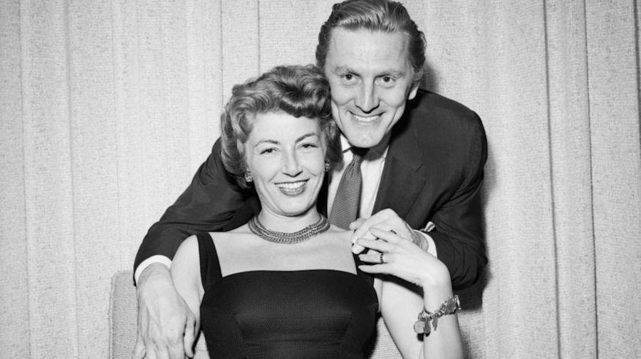 Kirk y Anne Douglas