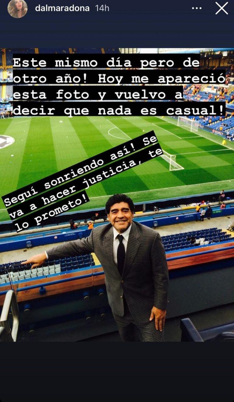 Caso Maradona: La contundente reacción de Dalma al conocerse el informe de la junta médica