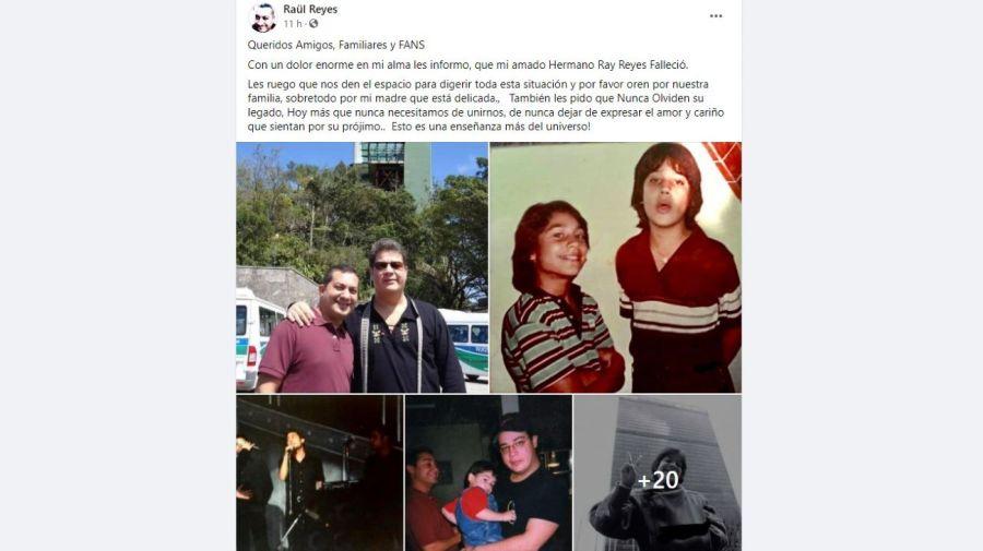 Ray Reyes muerte