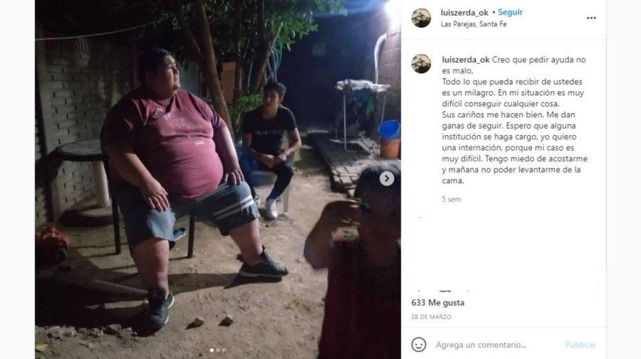 El pedido de ayuda de Luisito de Cuestion de Peso