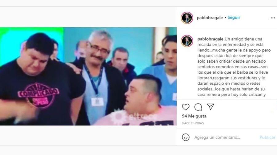 La furia de Pablo Bragale