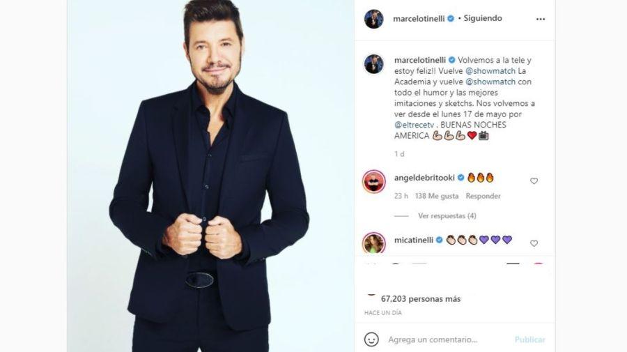 Marcelo Tinelli fecha debut La Academia