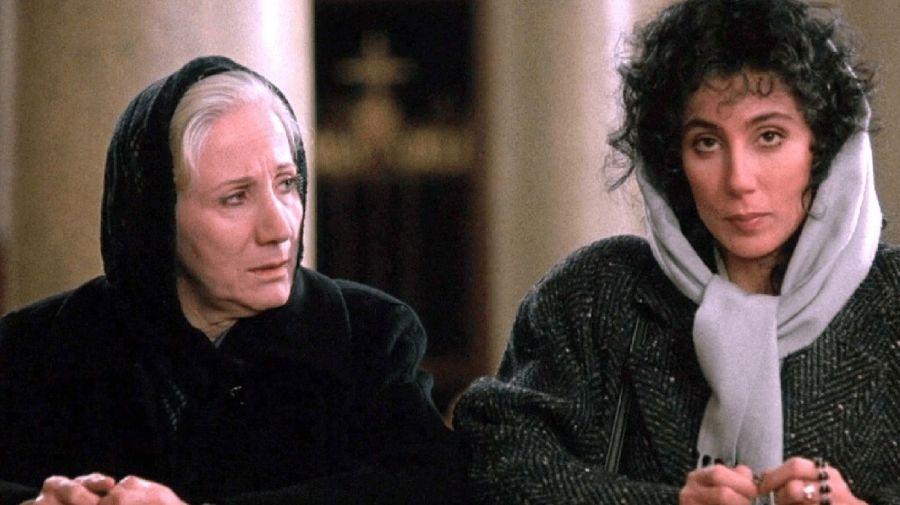 Olympia Dukakis y Cher en Hechizo de Luna