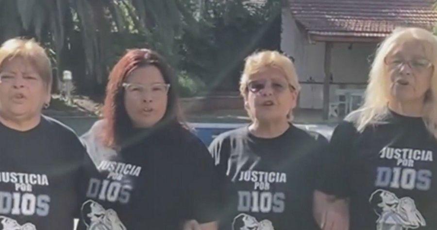 Así reaccionaron las hermanas de Diego Maradona ante el resultado de la Junta Médica