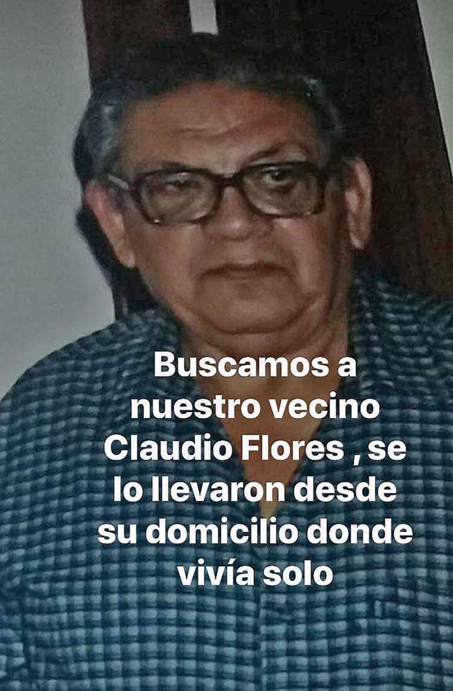 Claudio Flores, el hombre que denunciaron como desaparecido 20210503