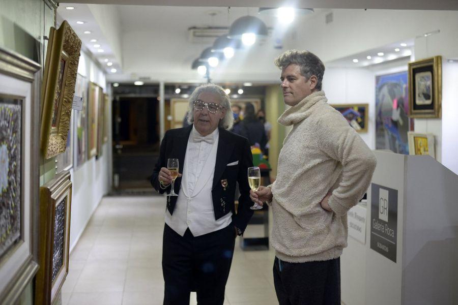"""El artista plástico """"Conde Divagante"""" (Sergio Monaco) presentó la muestra """"La Hormiga Atomica"""""""