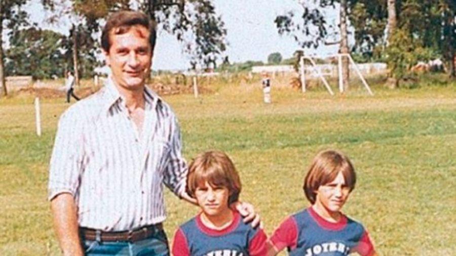 Falleció el padre de los mellizos Barros Schelotto