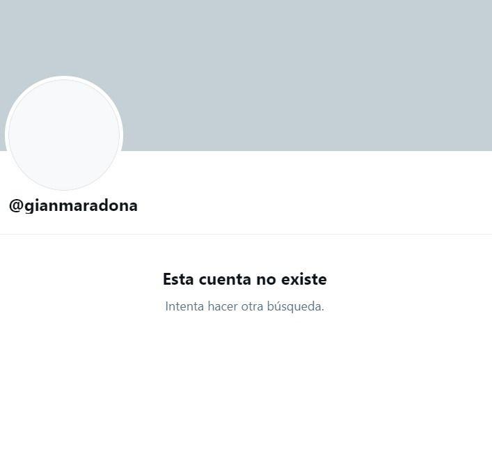 Gianinna Maradona se fue de las redes sociales