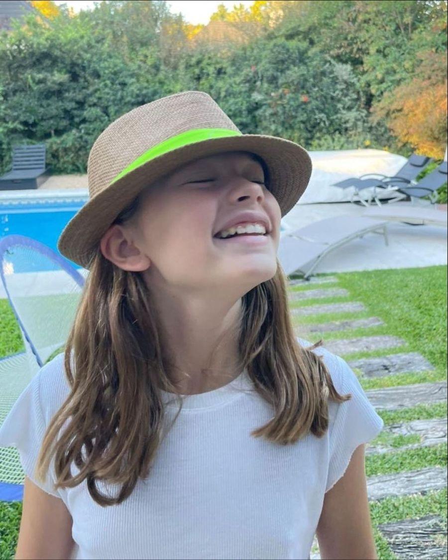 FOTOS | Así luce Matilda la hija de Mariana Fabbiani que acaba de cumplir 11 años