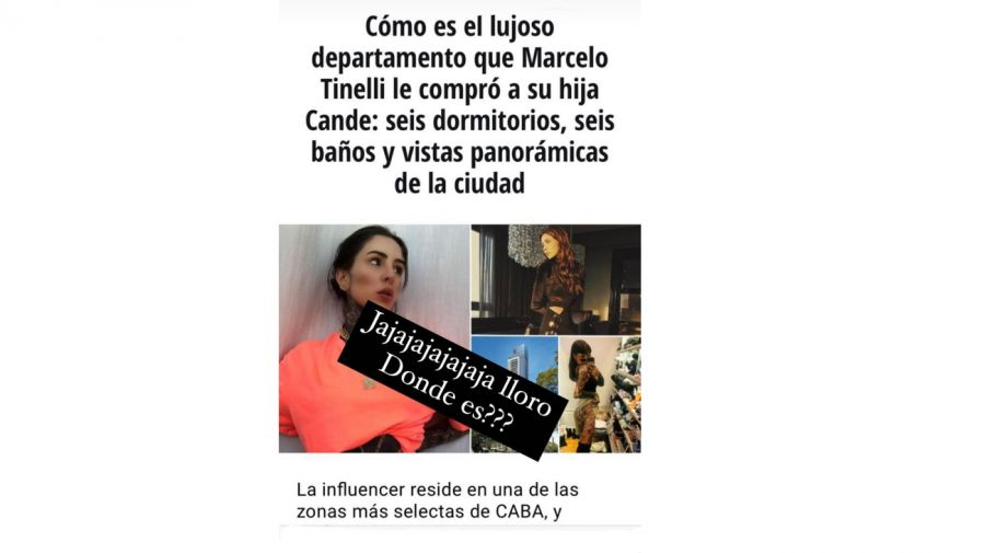 Historia Cande Tinelli 0504