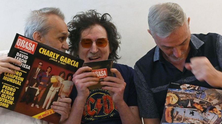 David Lebón, Charly García y Pedro Aznar 0505