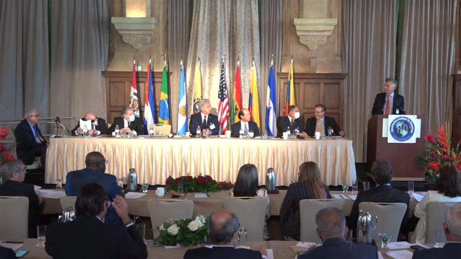 Mauricio Macri en el FORO: DEFENSA DE LA DEMOCRACIA EN LAS AMÉRICAS 20210505