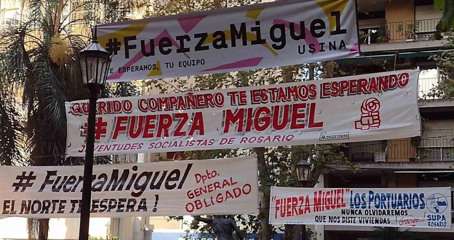 Mensajes de apoyo a Miguel Lifschitz, durante su internación