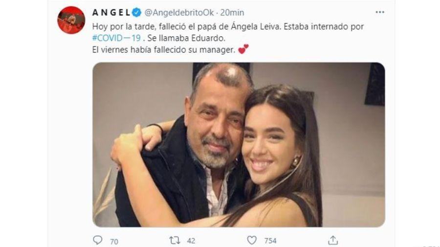 Muerte Padre Angela Leiva