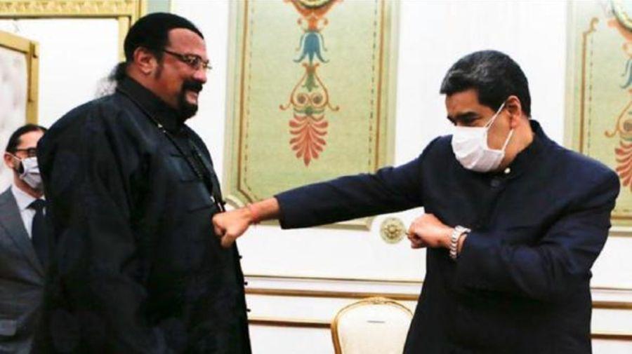 Nicolas Maduro y Steven Seagal