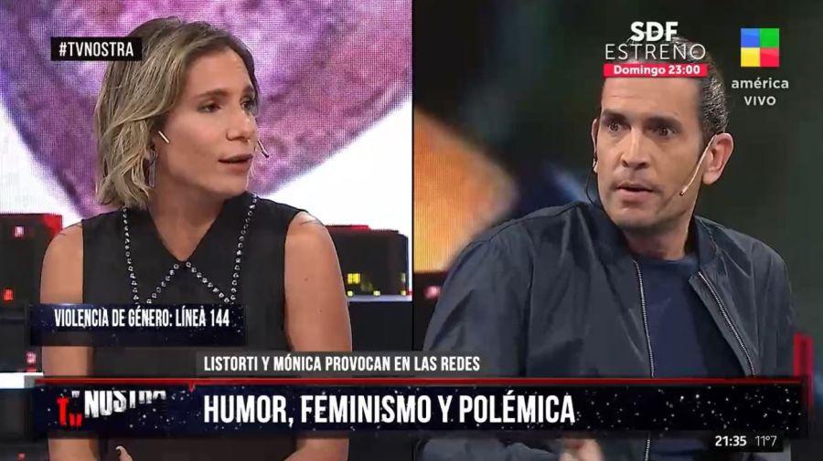 Angela Lerena y Diego Ramos