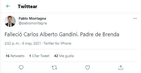 Papá de Brenda Gandini
