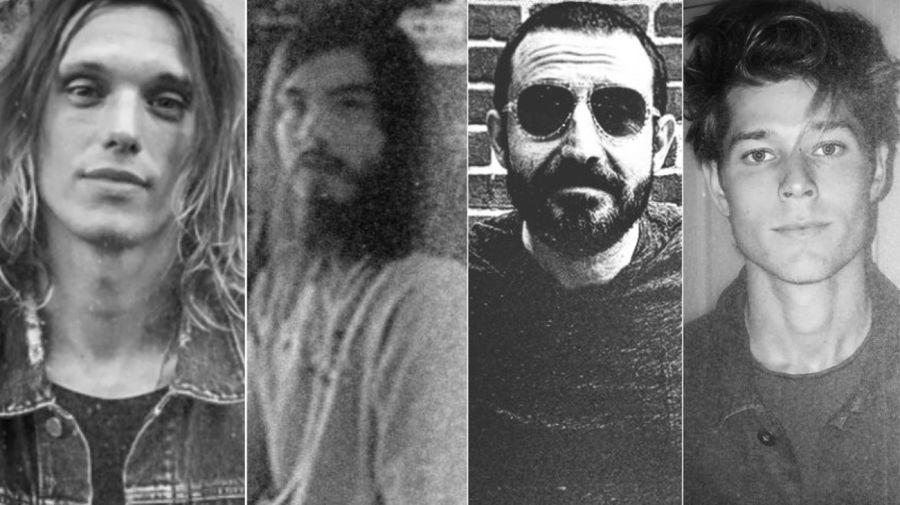 Jamie Campbell Bower, Eduardo Franco, Nikola Djuricko y Mason Dye