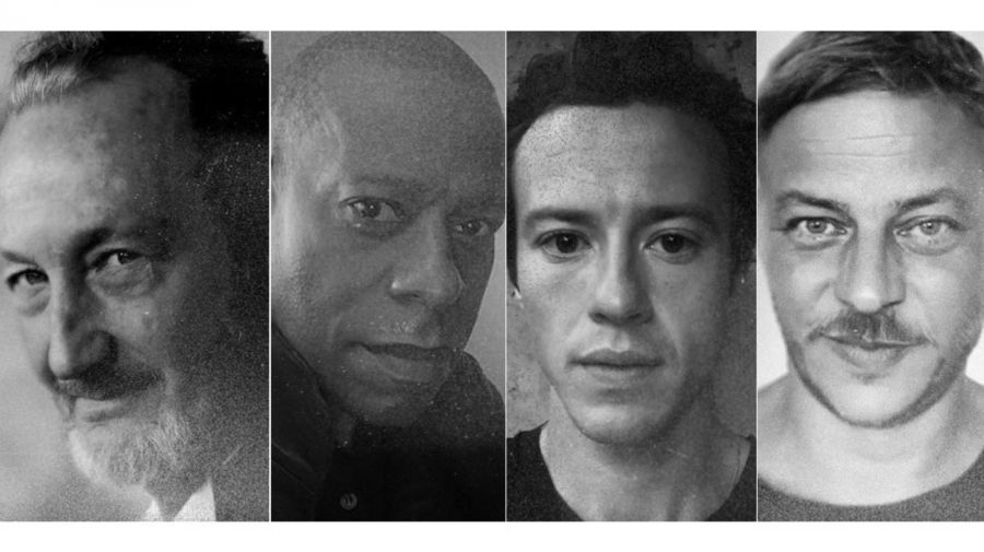 Robert Englund, Sherman Augustus, Joseph Quinn y Tom Wlaschiha