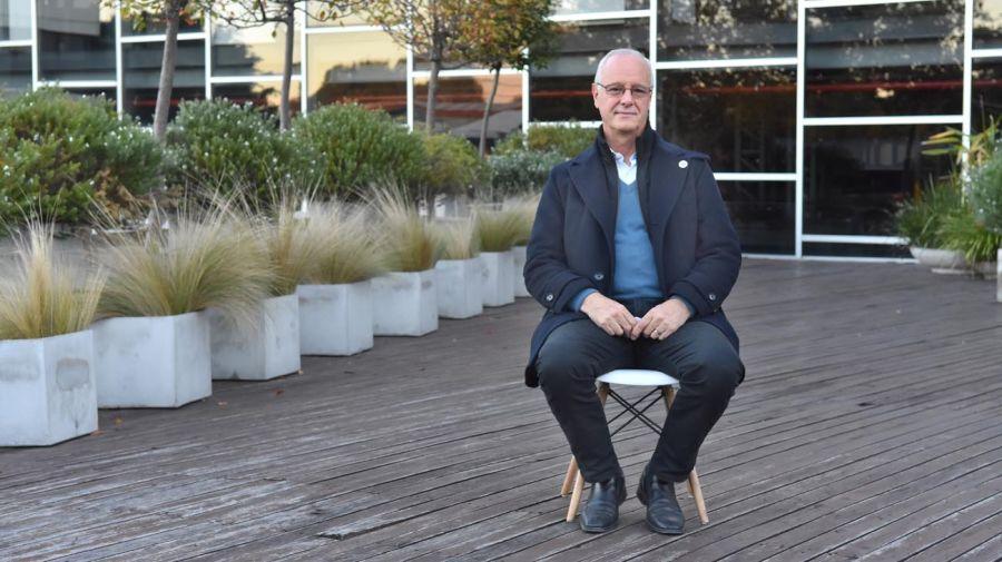 Daniel Gollan, en la entrevista con Jorge Fontevecchia.
