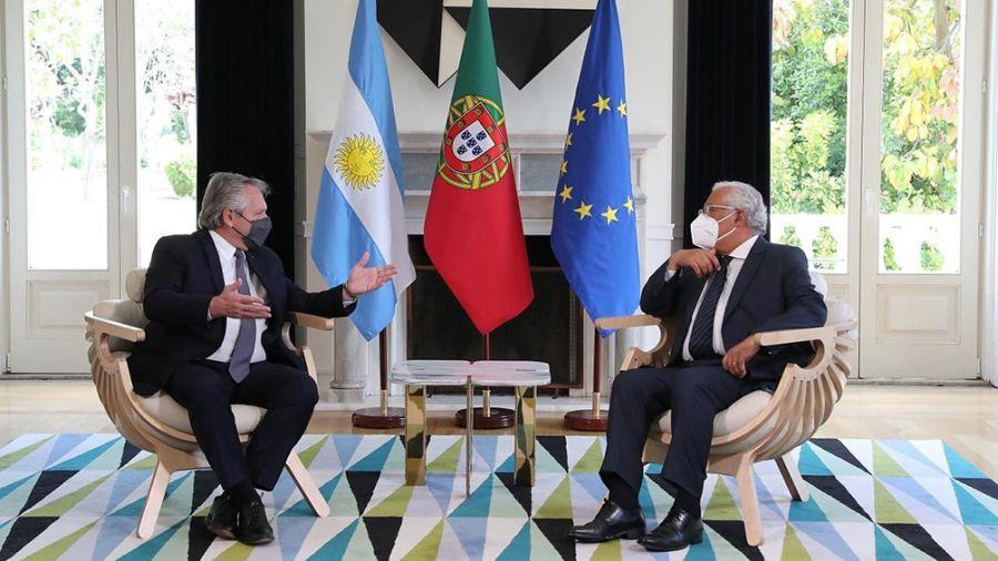 Alberto Fernández y Antonio Luis Costa Da Costa.