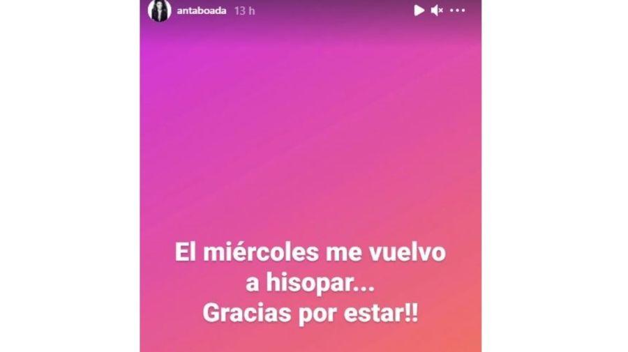 Andrea Taboada aislada